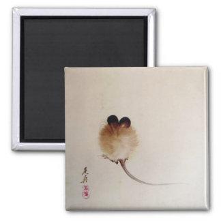 Zen painting mouse magnet