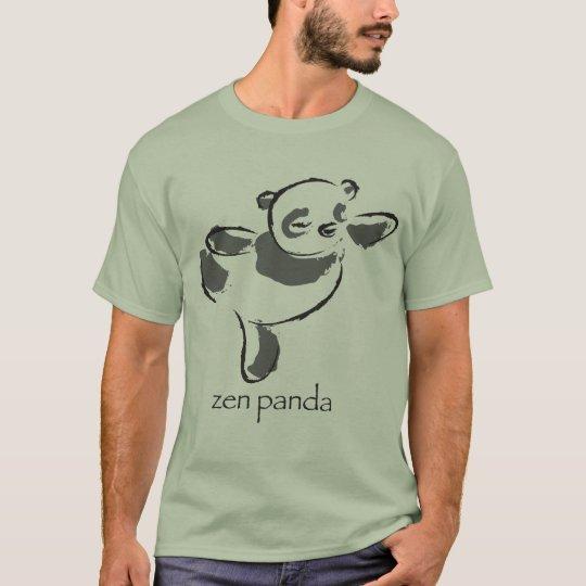 Zen Panda - Grey T-Shirt
