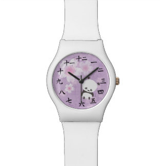 Zen Panda Watch (Purple Sakura)