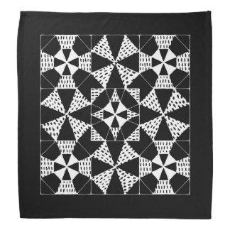 Zen-pattern bandana