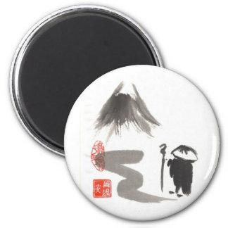 Zen Pilgrim Magnet