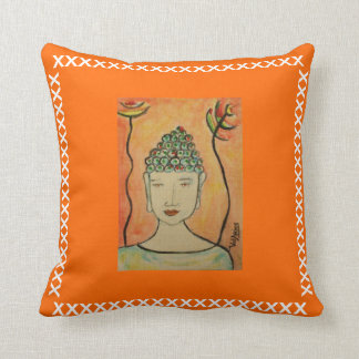 Zen Pillow by ValAries Throw Cushions