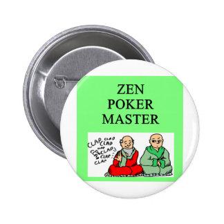zen poker master pin