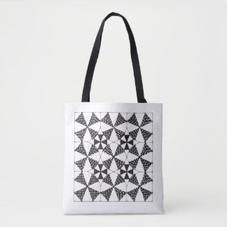 Zen-Quilting Alpha + Beta Tote Bag
