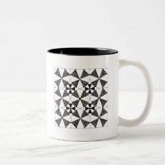 Zen-Quilting black ring mug