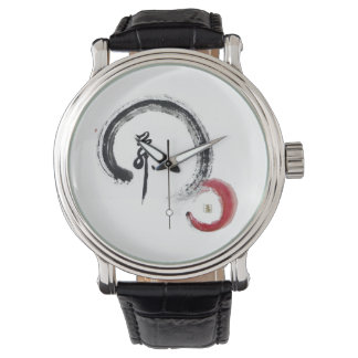 Zen Red, Enso Wrist Watches