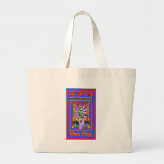 Zen Retro Hard Wok Jumbo Tote Bag
