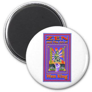 Zen Retro Hard Wok Magnet