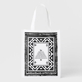 Zen Reusable Grocery Bag
