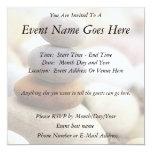 """Zen Rock Garden 5.25"""" Square Invitation Card"""