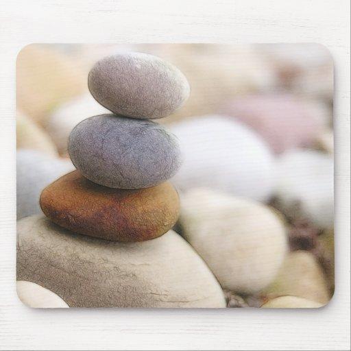 Zen Rock Garden Mouse Pad
