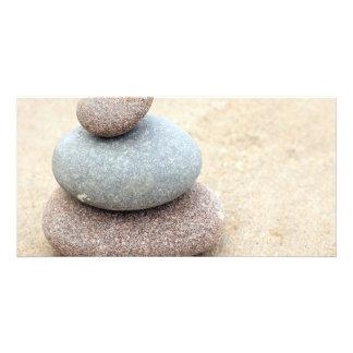 Zen Rocks Picture Card