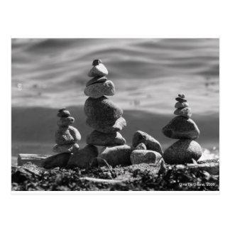 Zen Rocks Postcard
