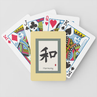 "Zen Scroll ""Harmony"" Bicycle Playing Cards"