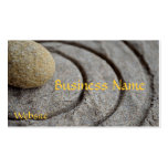 Zen Stone Pack Of Standard Business Cards