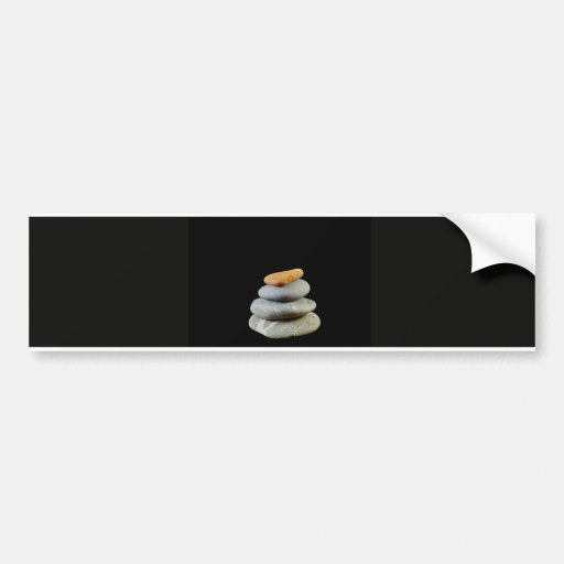 Zen Stones Bumper Stickers