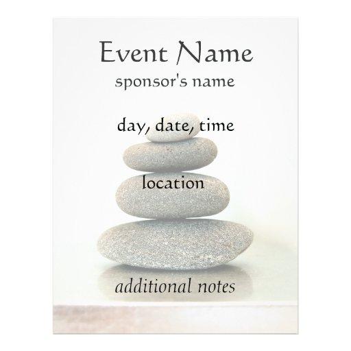Zen Stones Holistic Healing Arts Flyer