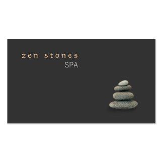 Zen Stones Holistic Healing Arts Wellness Pack Of Standard Business Cards