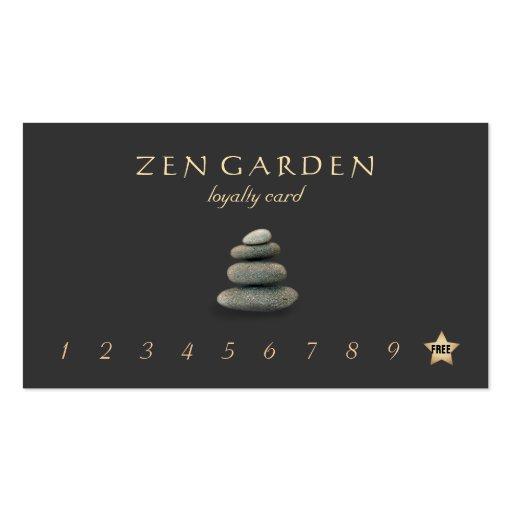 Premium massage business card templates zen stones massage therapist loyalty punch card business card templates fbccfo Choice Image