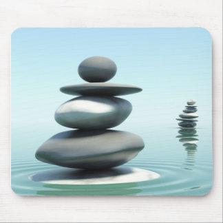 Zen stones Midday Mouse Mat