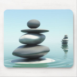 Zen stones Midday Mouse Pad