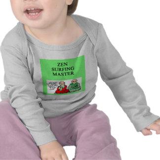 zen surfing master t-shirt