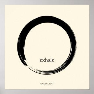Zen Symbol Poster