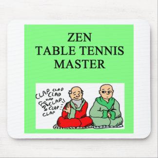 zen table tennis master mousepad