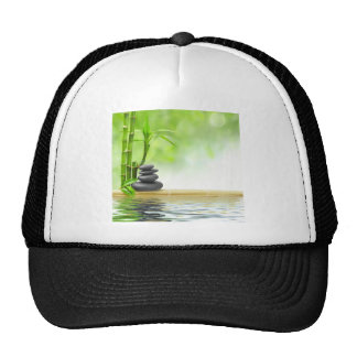 Zen tranquility water garden by healing love mesh hats