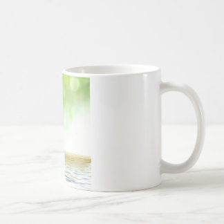 Zen tranquility water garden by healing love classic white coffee mug