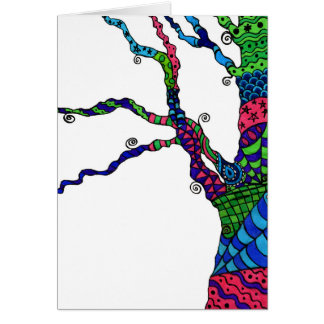 Zen Tree - birthday card