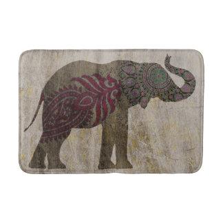 Zen Tribal Elephant Bath Mat
