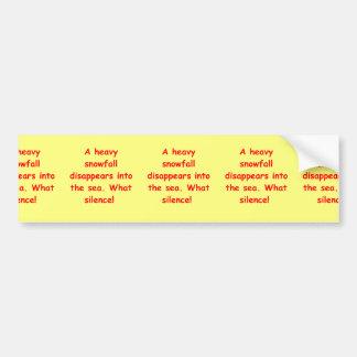 zen understanding bumper sticker