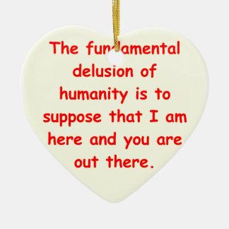 zen understanding ornaments