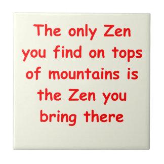 zen understanding ceramic tiles