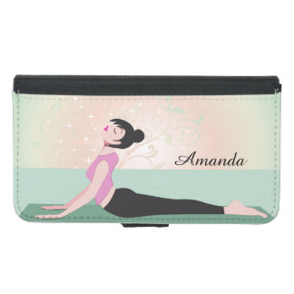 Zen Yoga Woman and Monogram Name - Galaxy S5