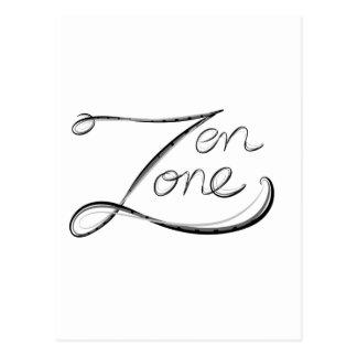 Zen Zone Postcard