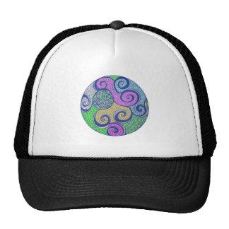 Zendala Colorized Mandala Drawing Cap