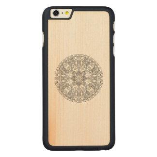 Zendala Design Carved® Maple iPhone 6 Plus Case