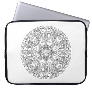 Zendala Design Laptop Sleeve