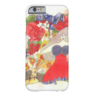 Zendoodle Art Donna Barely There iPhone 6 Case