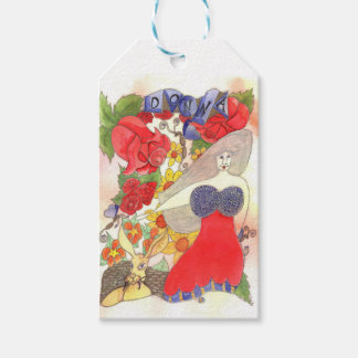 Zendoodle Art Donna Gift Tags