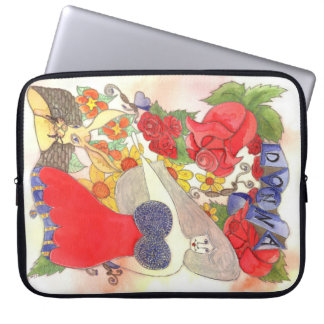 Zendoodle Art Donna Laptop Sleeve