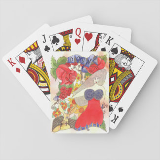 Zendoodle Art Donna Playing Cards