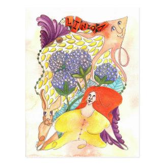 Zendoodle Art Linda Postcard