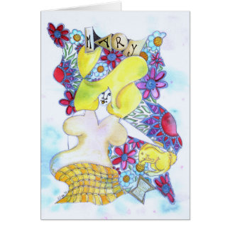 Zendoodle Art Mary Card