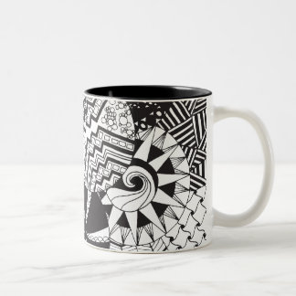 Zendoodle Circle Patterns | Mug