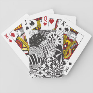 Zendoodle Circle Patterns | Playing Cards