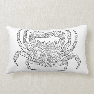 Zendoodle Crab Lumbar Cushion