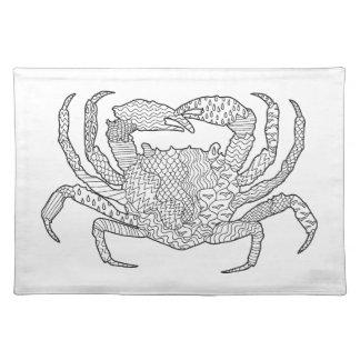 Zendoodle Crab Placemat